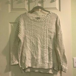 Madewell White Sweater